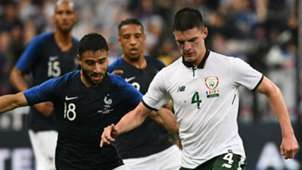 Declan Rice Ireland Nabil Fekir France