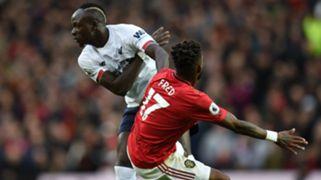 Sadio Mane Fred Man Utd vs Liverpool 2019-20