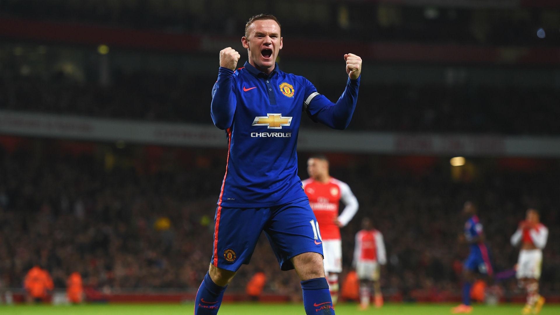Wayne Rooney Manchester United Arsenal