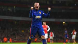 Wayne Rooney Manchester United Arsenal