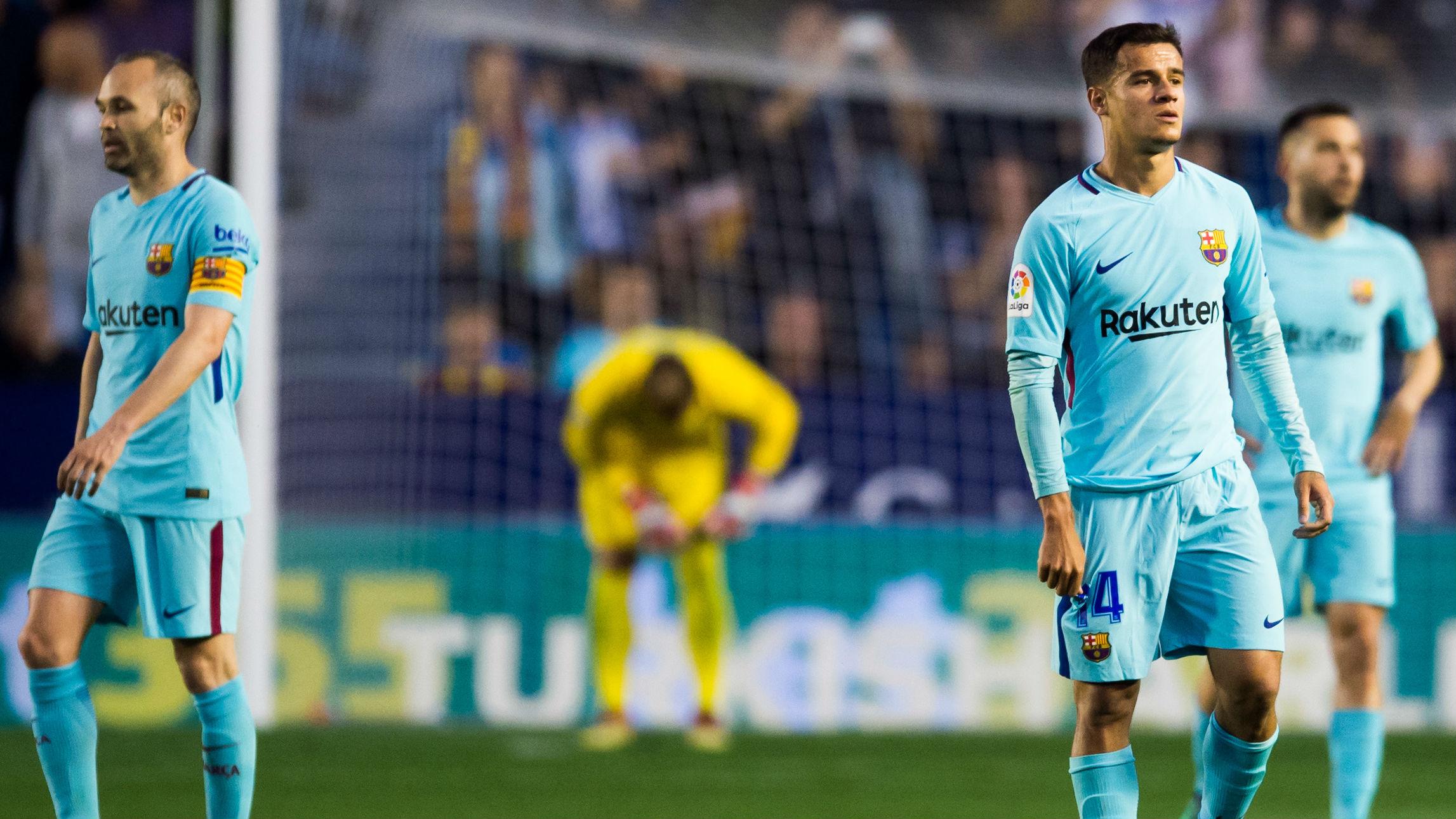 Levante shatter Barcelona's unbeaten La Liga run