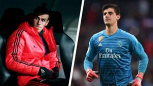 Garet Bale Thibaut Courtois 2018-19