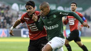 Wahbi Khazri Clement Grenier Saint-Etienne Rennes Ligue 1 21102018