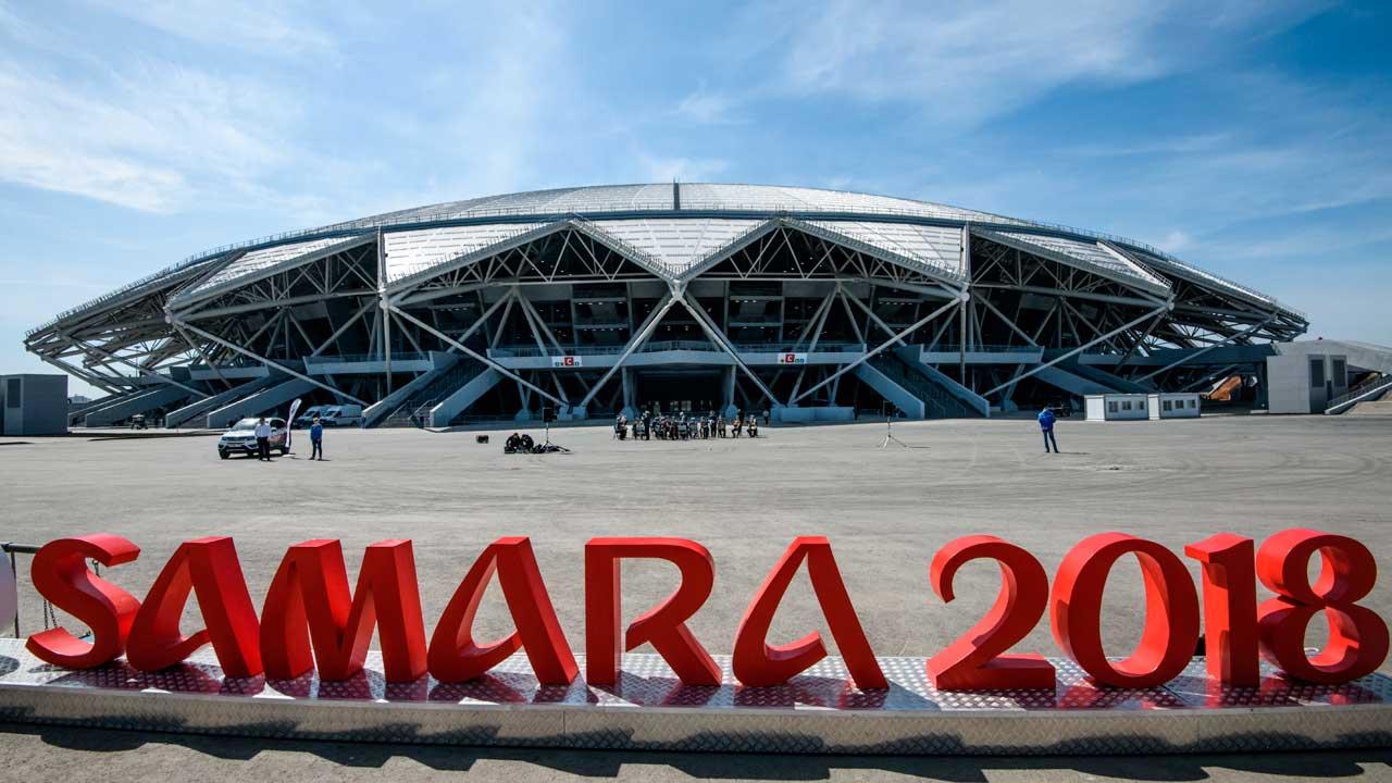 Samara Arena Krylya Sovetov World Cup stadium
