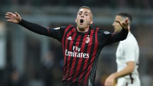 Gerard Deulofeu Milan Roma Serie A 07052017