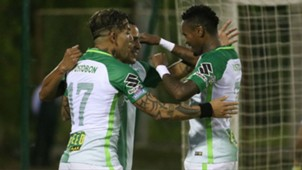 Atlético Nacional gol a Águilas Rionegro Liga Águila 2017-II