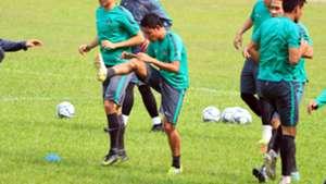 Evan Dimas - Latihan Timnas Indonesia