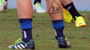 Daniele de Rossi Italien Tattoo 13042013