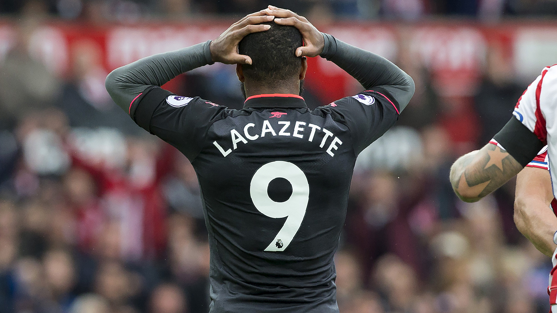 Alexandre Lacazette FC Arsenal Stoke City 08192017