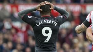 Alexandre Lacazette FC Arsenal Stoke City 08192017
