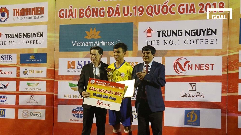 U19 Đồng Tháp U19 Hà Nội Chung kết giải U19 Quốc gia 2018