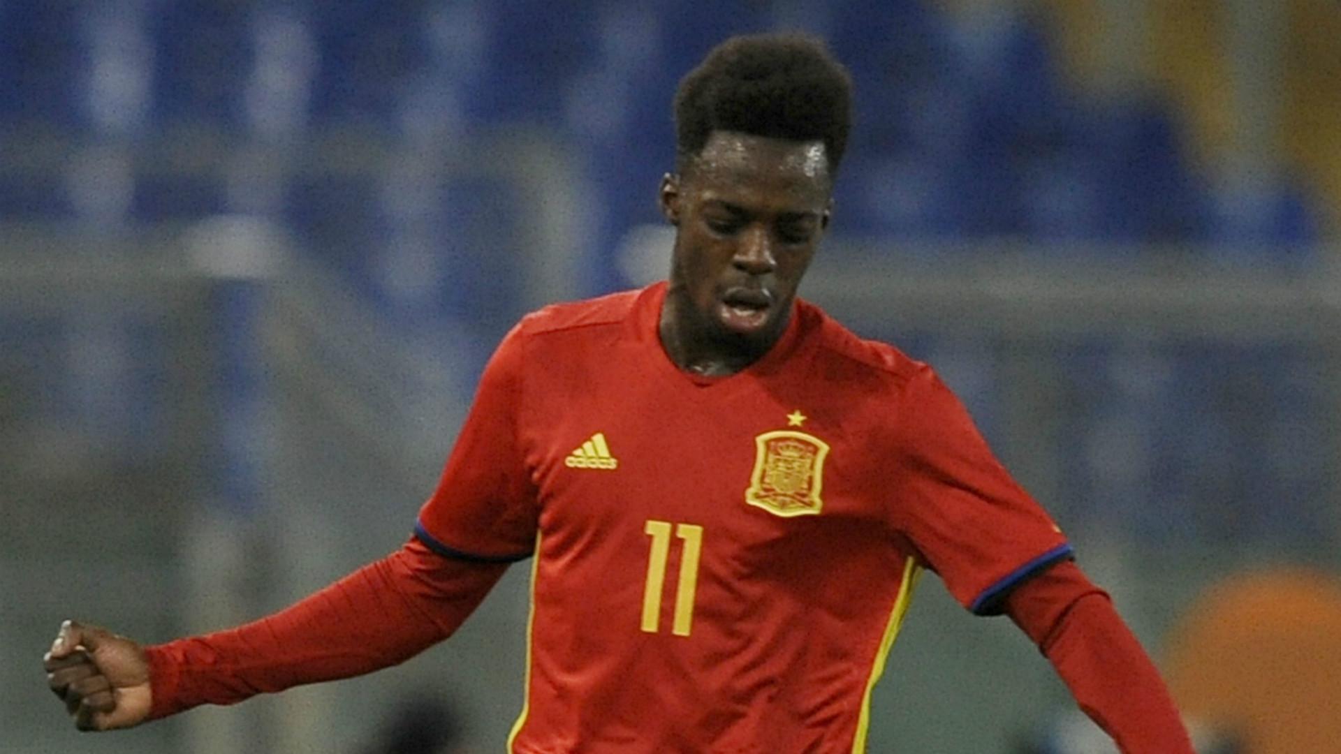 Inaki Williams Spain U21 2017