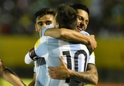 Messi Enzo Perez Ecuador Argentina Eliminatorias 10102017