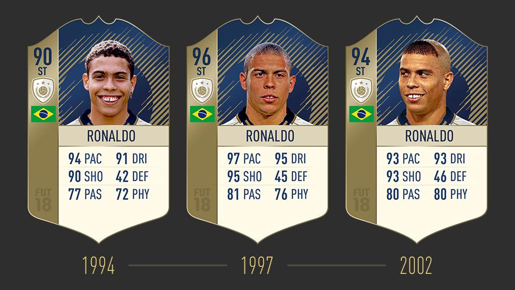 Ronaldo FIFA 18 Icon Stories