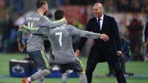 Ramos, Ronaldo, Zidane, Real Madrid, 18062017
