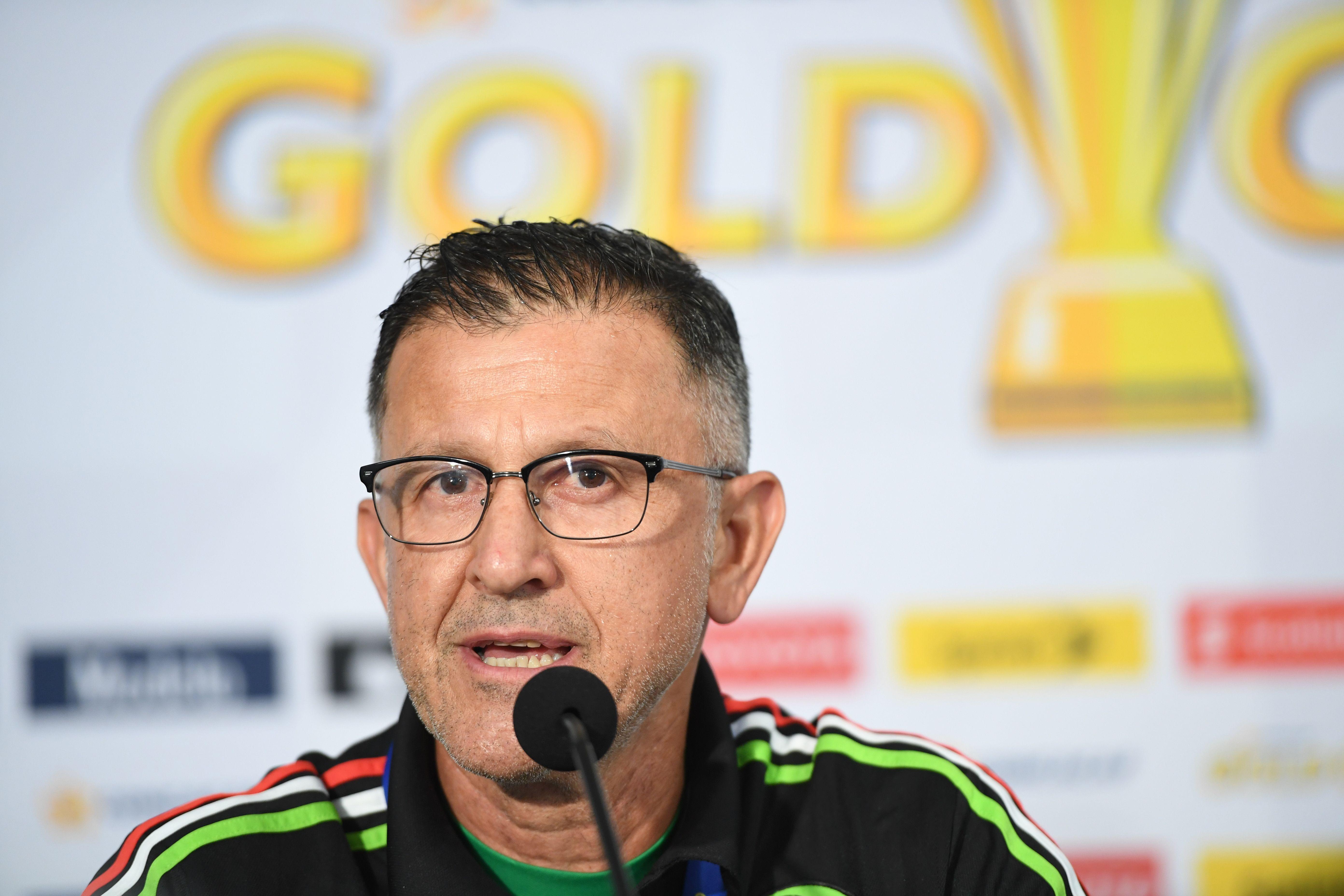 juan carlos osorio conferencia copa oro 2017 previo méxico el salvador
