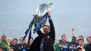Jose Mourinho Inter 2010 Champions League