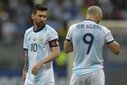 Messi Aguero Argentina Colombia Copa América