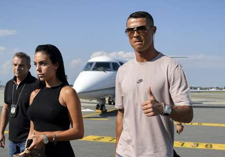 Ronaldo lands in Turin for medical ahead of Juve transfer