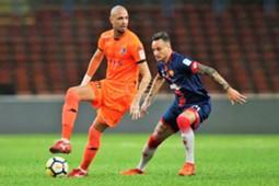 Rafael Ramazotti, PKNS FC, Alfonso de la Cruz, Selangor, 10062018