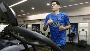 Carlos Lampe Boca entrenamiento 09102018