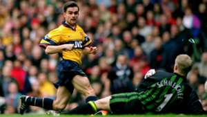 Marc Overmars Manchester United Arsenal