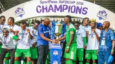 Gor Mahia crowned champions v Simba.