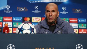 Zinedine Zidane Champions League Final press conference