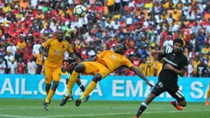 Erick Mathoho and Abbubaker Mobara - Kaizer Chiefs v Orlando Pirates