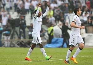 Guimaraes midfielder Bongani Zungu