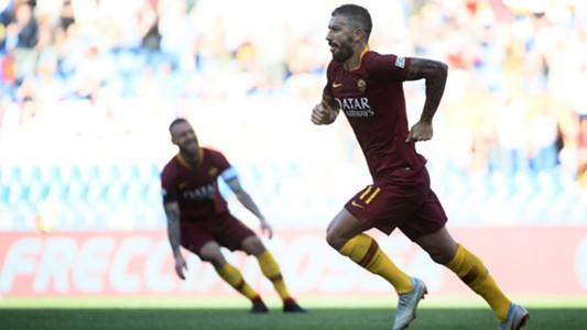 Aleksandar Kolarov goal Roma Lazio