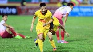 Vu The Vuong Nam Dinh vs Sai Gon FC Round 1 V.League 2019