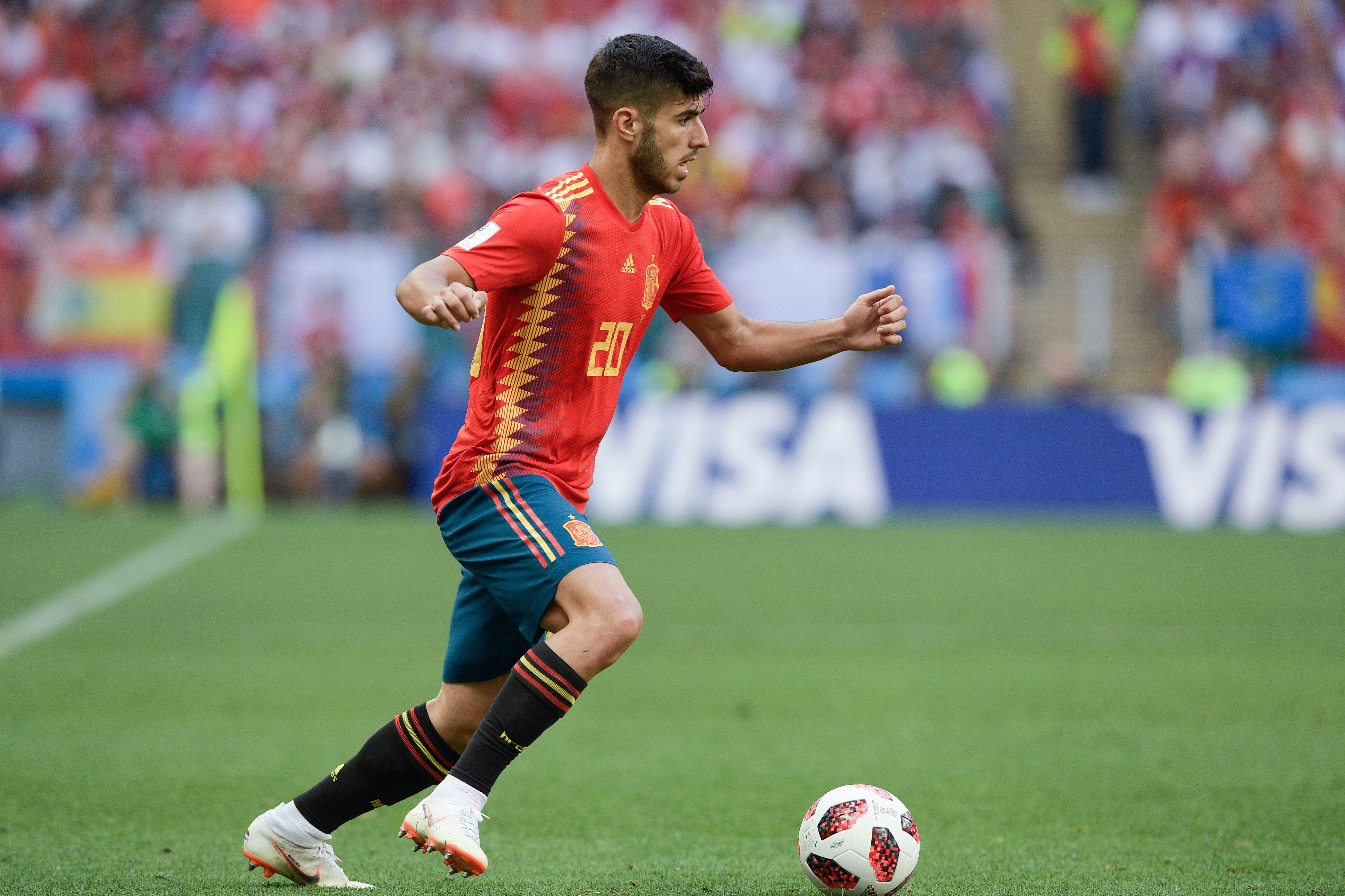 Marco Asensio España Rusia Spain Russia 01072018