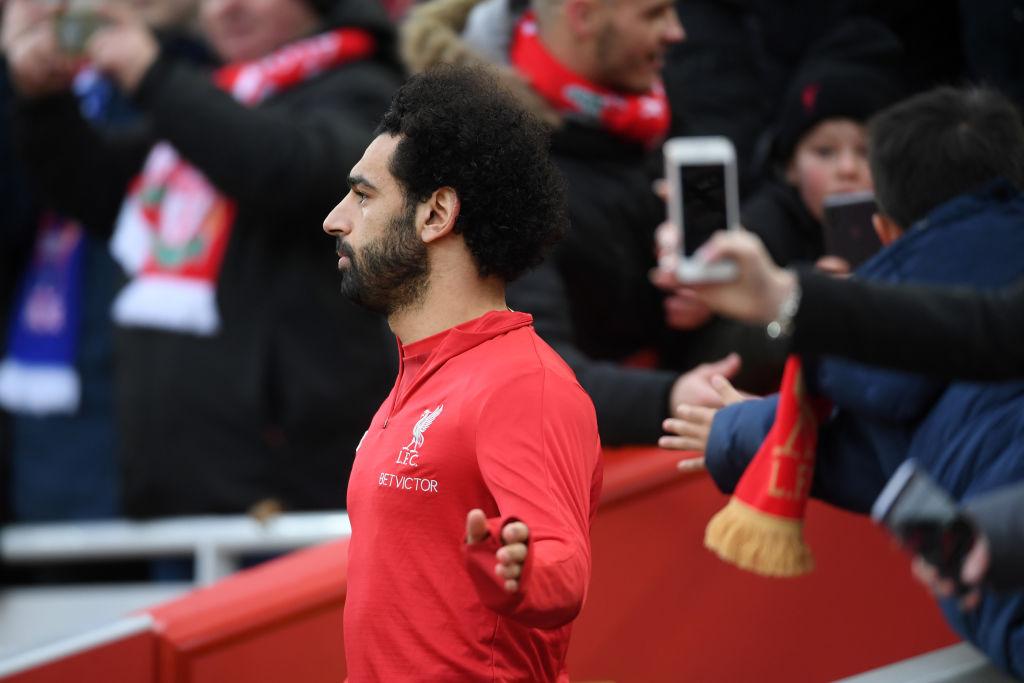 Mohamed Salah Prematch Liverpool vs Crystal Palace EPL 190119