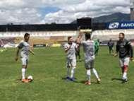 Bolivia entrenamiento
