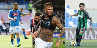 Più bassi Serie A