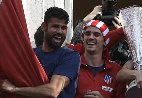 Costa delighted by 'b*stard' Griezmann's extension