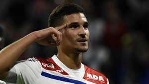 Houssem Aouar Lyon 2018-19