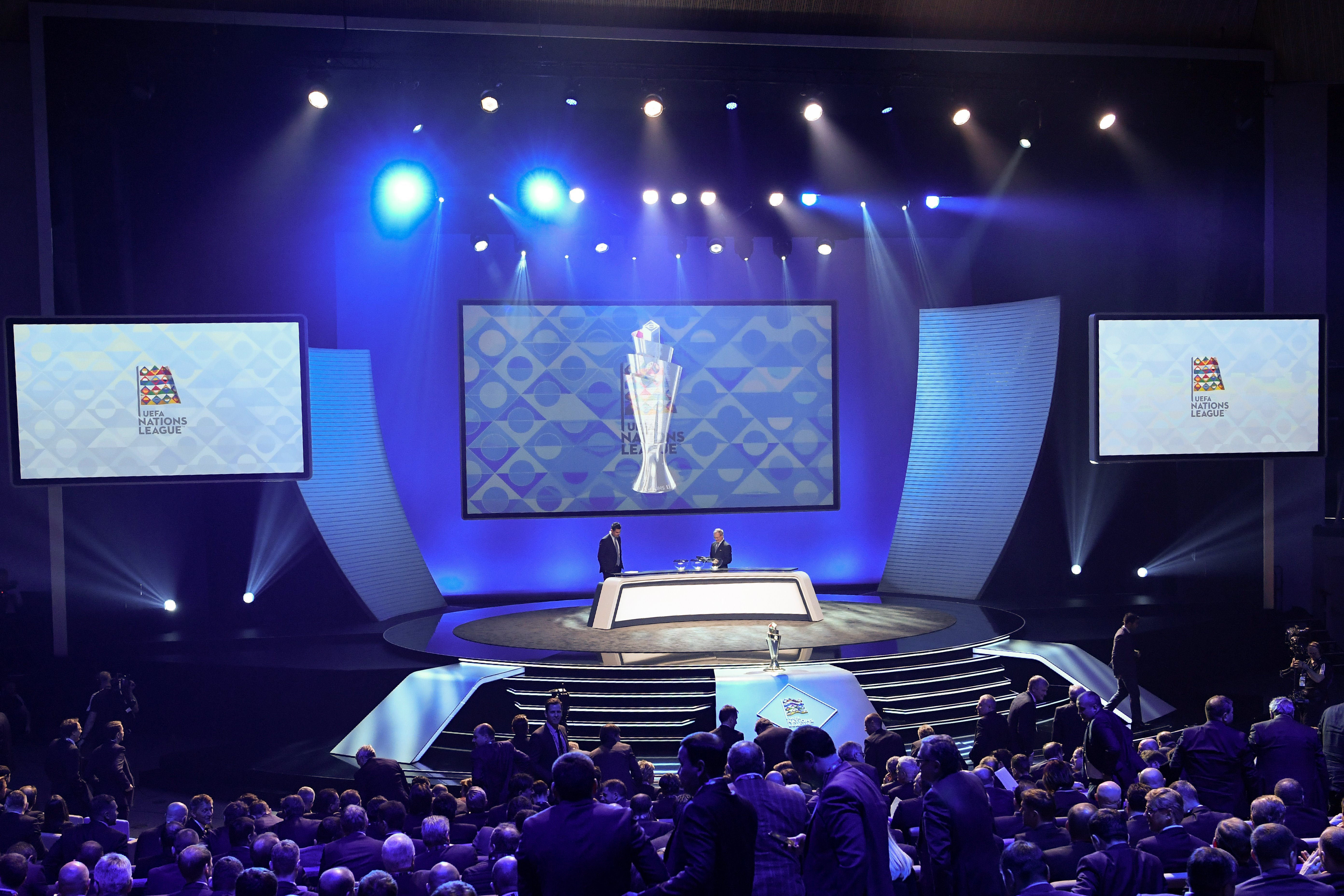 UEFA Nations League Draw Auslosung Logo