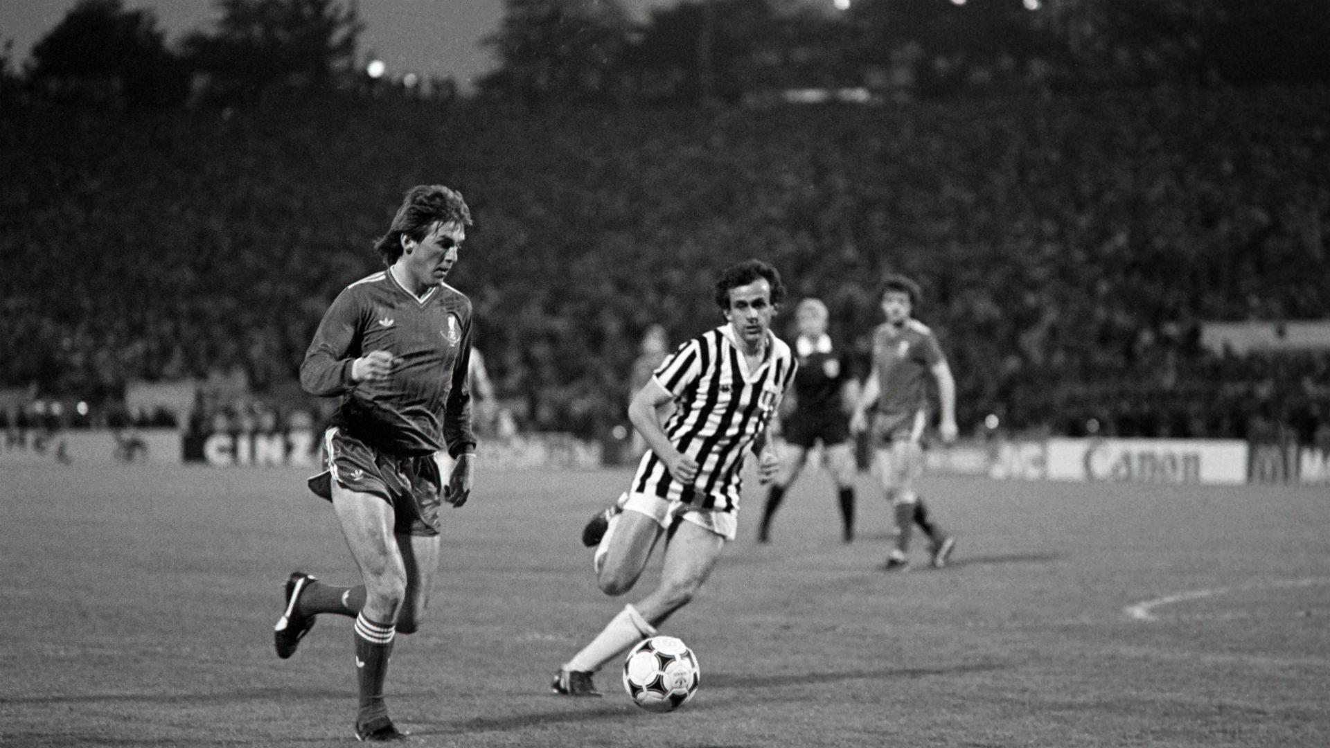 Liverpool Juventus Michel Platini European Cup 1985 Heysel