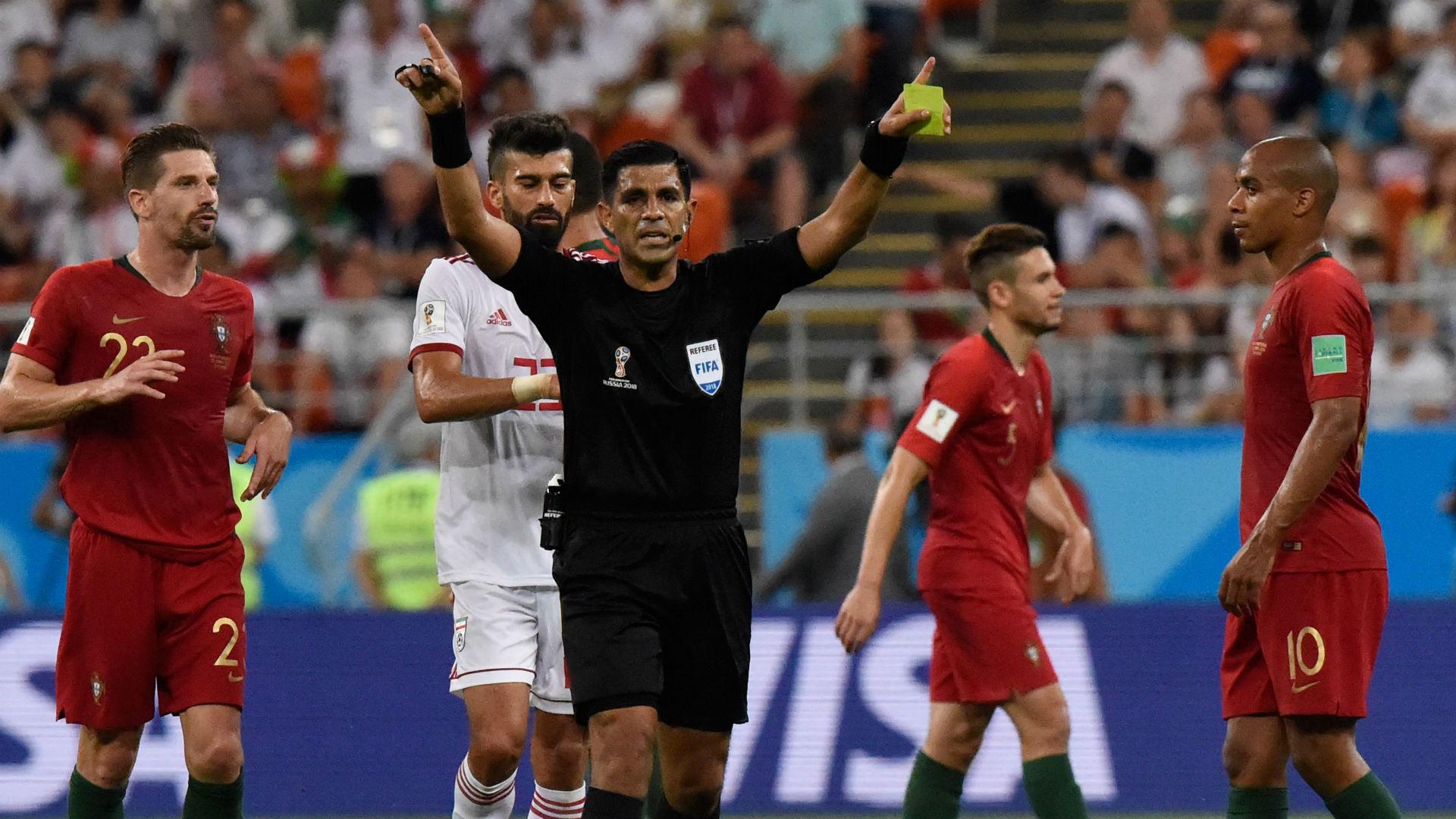 Juiz Portugal Irã Copa do Mundo 25 06 2018