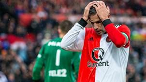 Robin van Persie Feyenoord - FC Utrecht Eredivisie 09232018