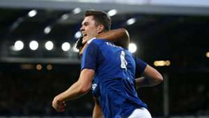 Michael Keane Everton Europa League