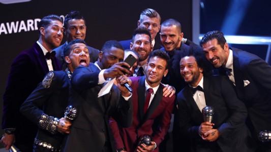 Idris Elba World XI 2017 FIFA The Best 23102017