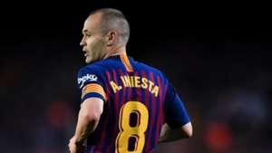 Andres Iniesta Barcelona LaLiga 20052018