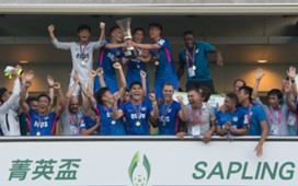 Hong Kong Sapling Cup, Kitchee 2:1 won over Tao Po.