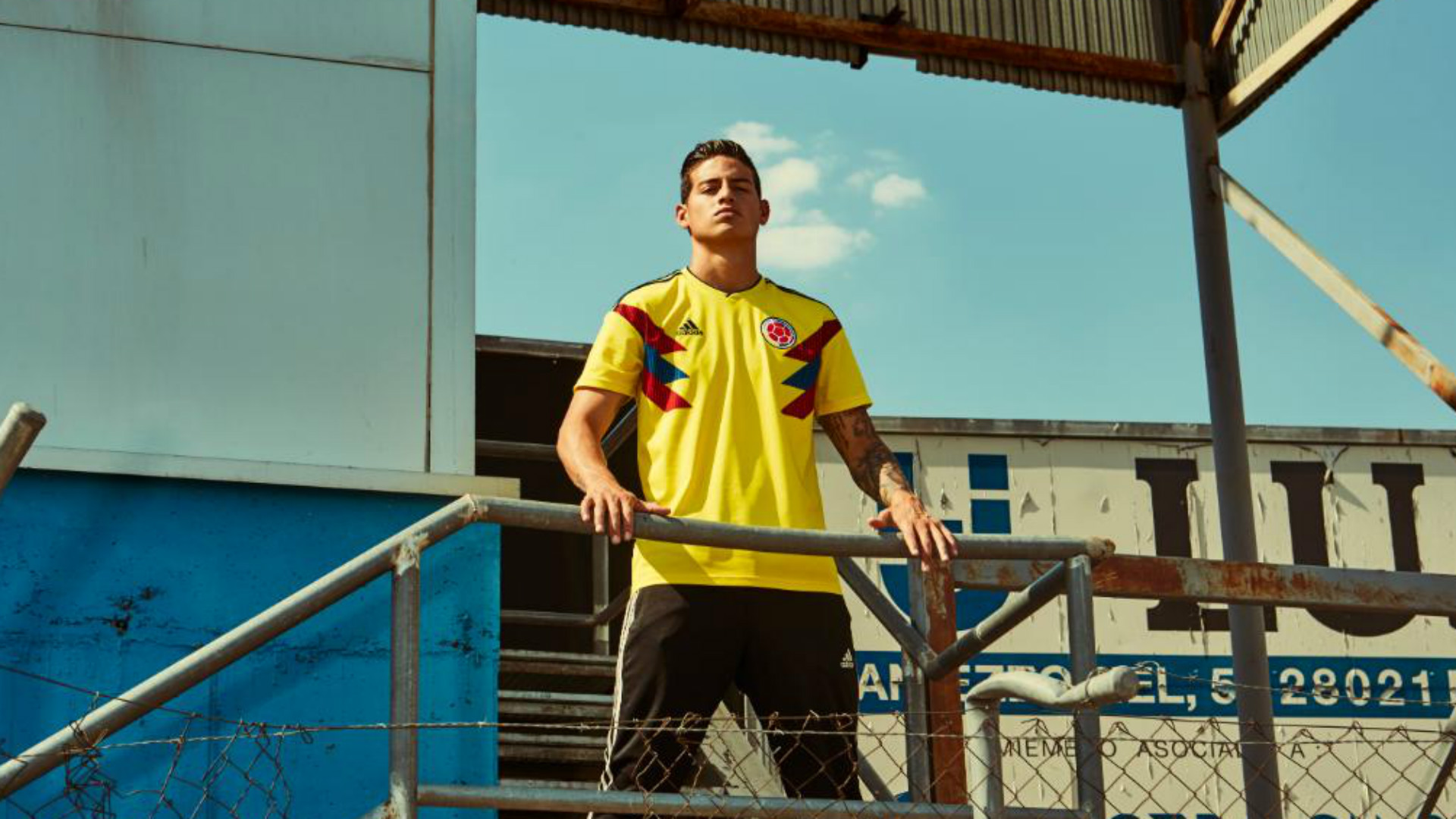 World Cup 2018 kit Colombia home