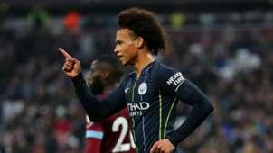 Leroy Sane Manchester City West Ham