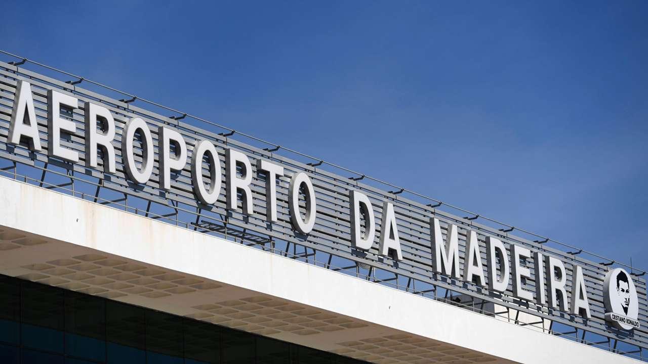 Cristiano Ronaldo Flufhafen Madeira