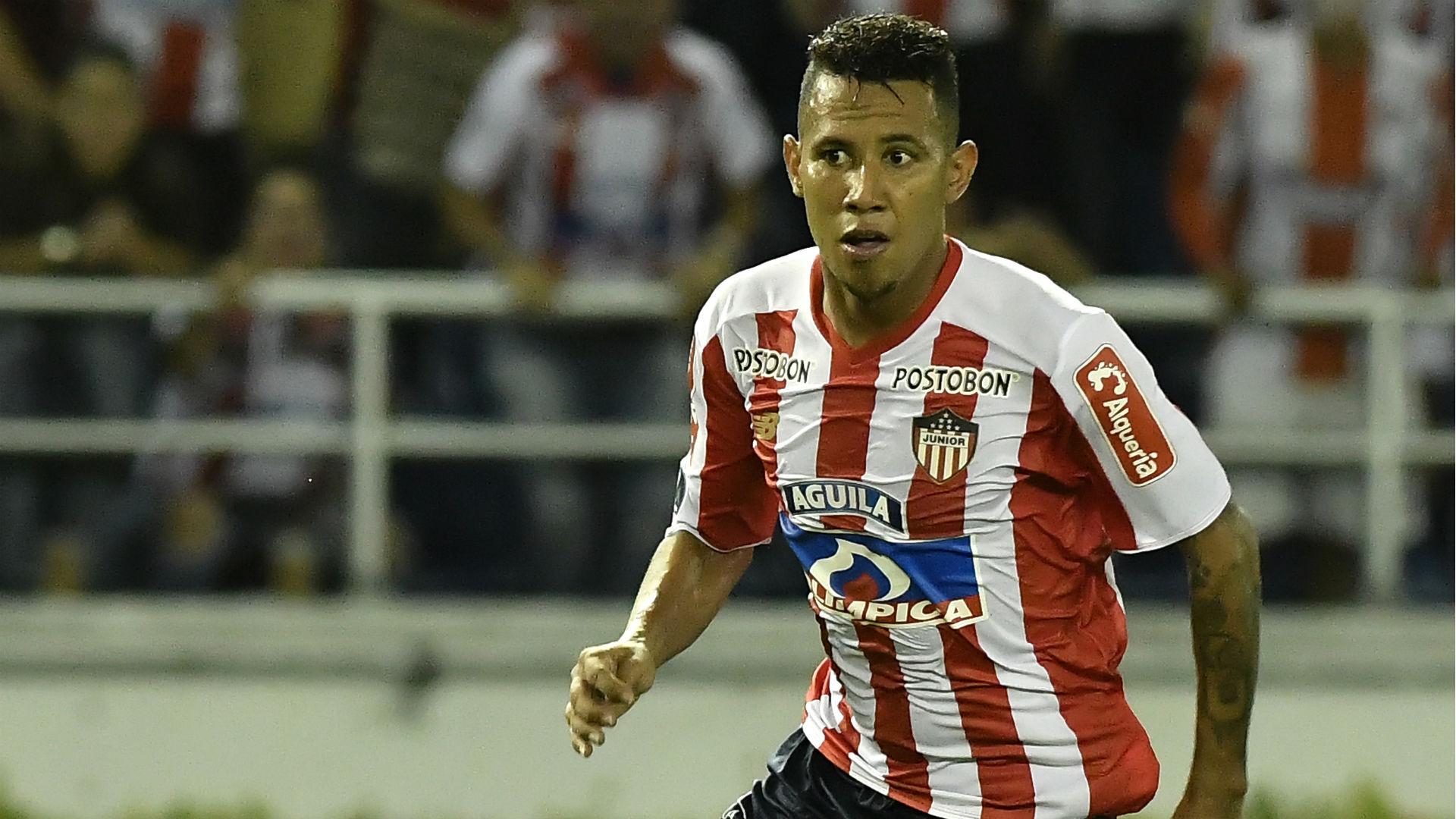 James Sánchez Junior Copa Sudamericana 2018